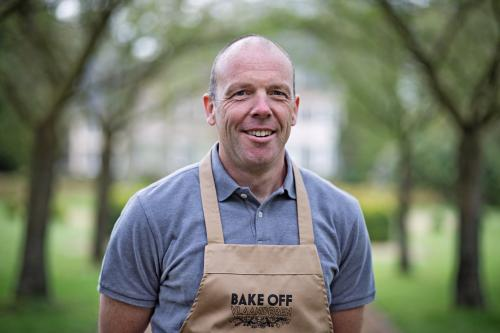 demonstratie op 4 november 2018 met Dirk van de Bake Off 2017.