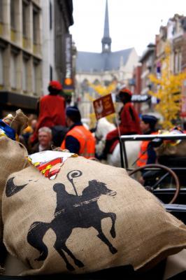 Intrede Sinterklaas te Leuven op 17 november